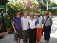 Marnix van Rossum met mede studenten, eigen foto