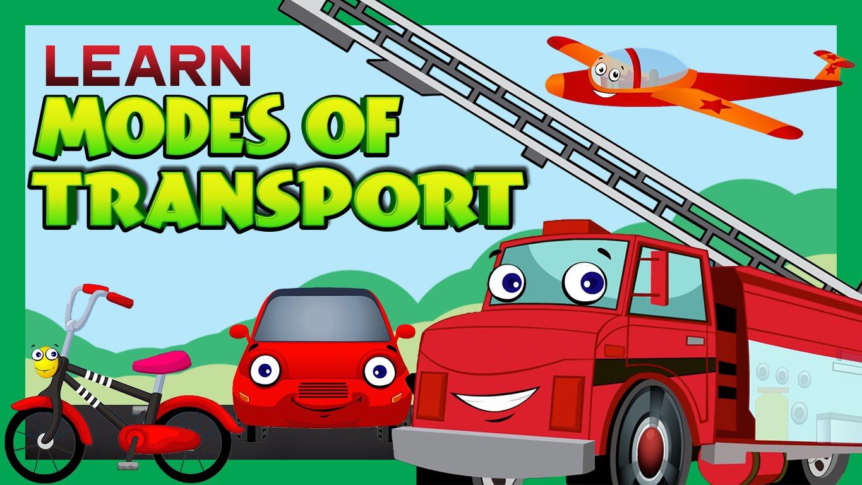 Modes Of Transport For Children
