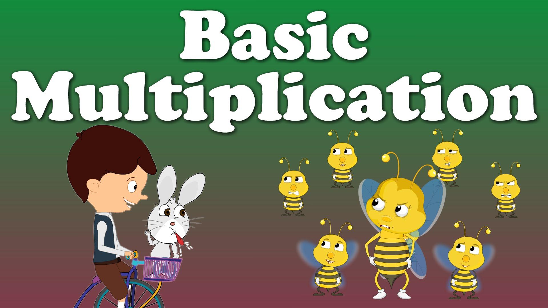 Basic Multiplication For Kids