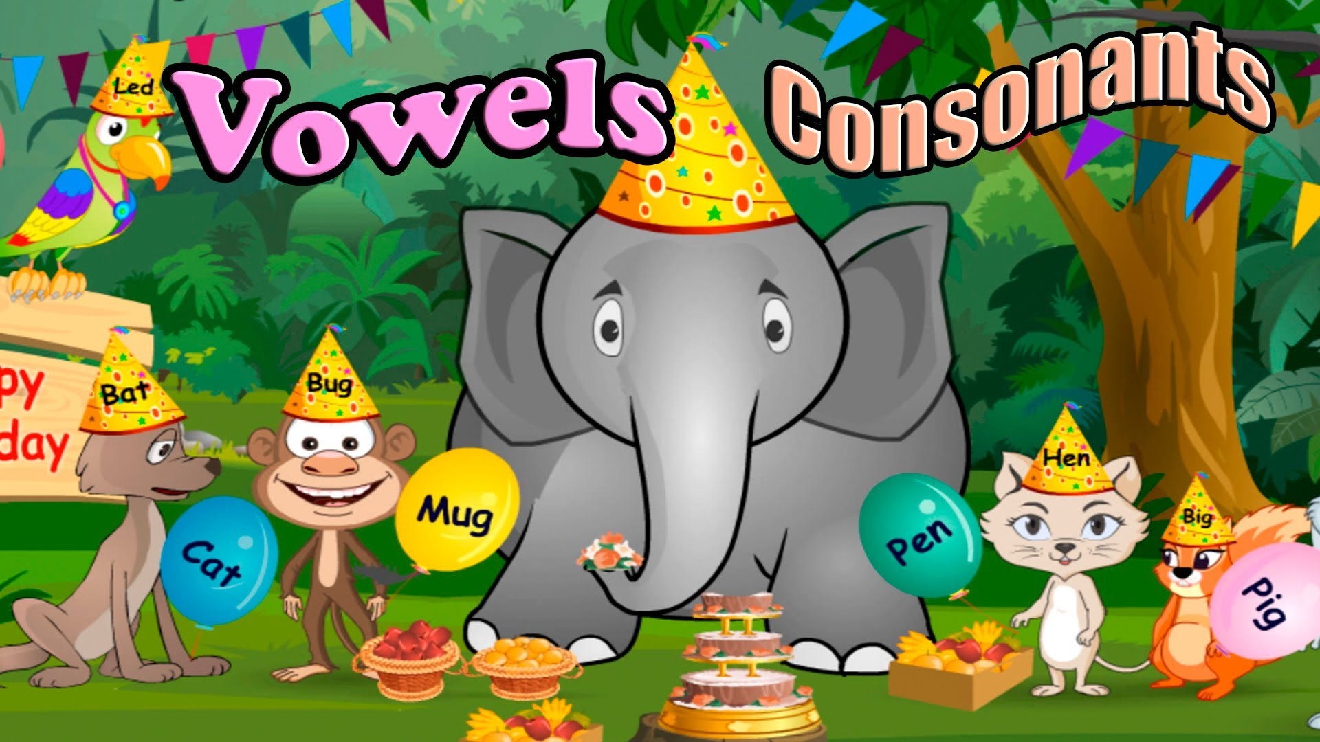 Children S Vowels Consonants And Rhyming Words Abc