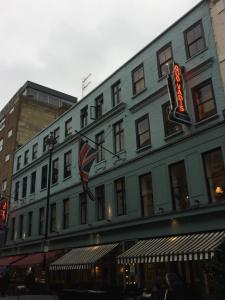 Quo Vadis Restaurant, Dean Street, London