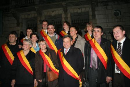 Photo des 13 élus de l'oppositionOrléans