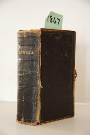 La Bible offerte par Louis Roussy