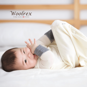 0-6 months White sleeping bag 70cm