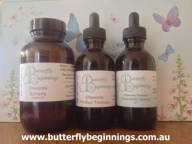 placenta tincture remedy