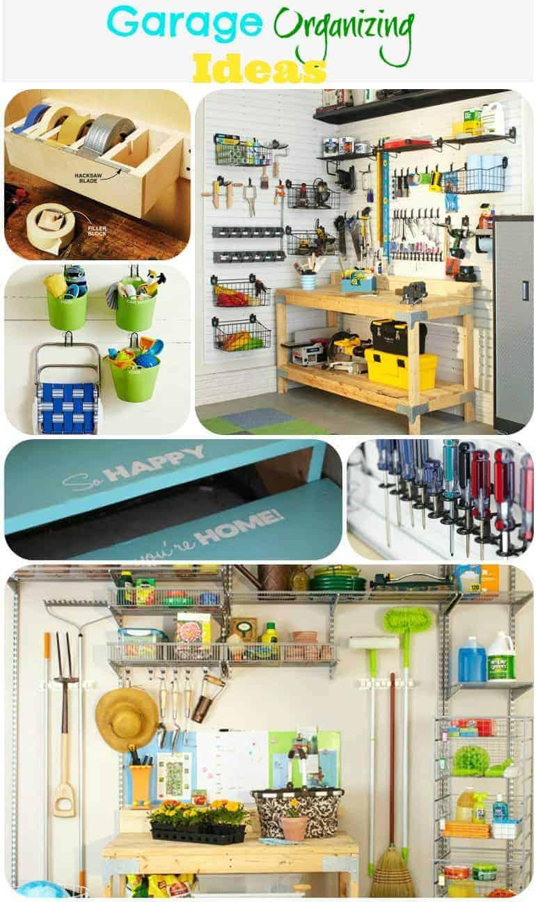 GARAGE INSPIRATION - PLACE OF MY TASTE on Organized Garage  id=45004