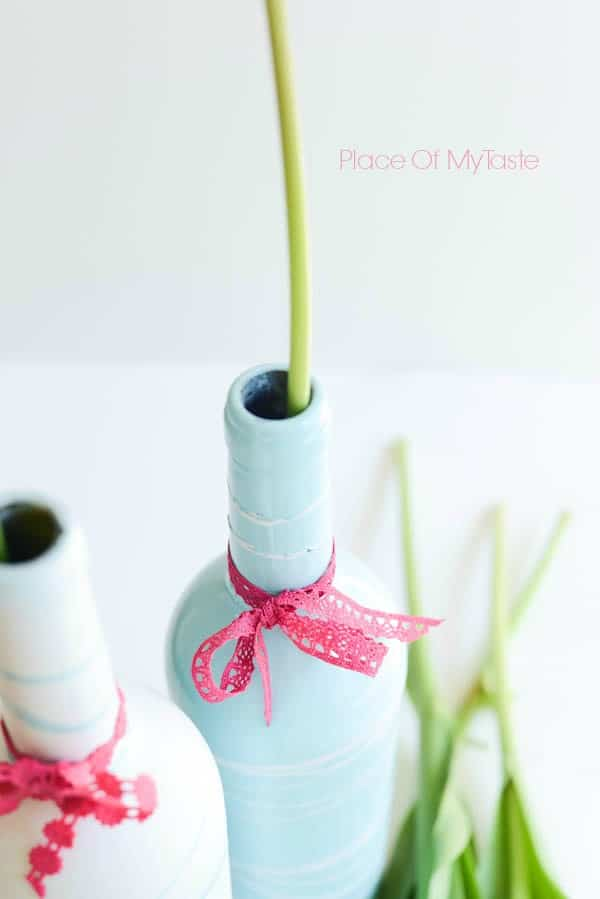 Painted Wine Bottles and mother's day printable  by Place Of My Taste (7 of 9)