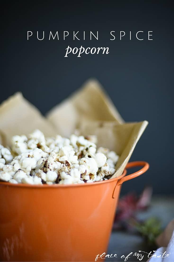 Pumpkin Spice Popcorn Recipe | the 36th Avenue
