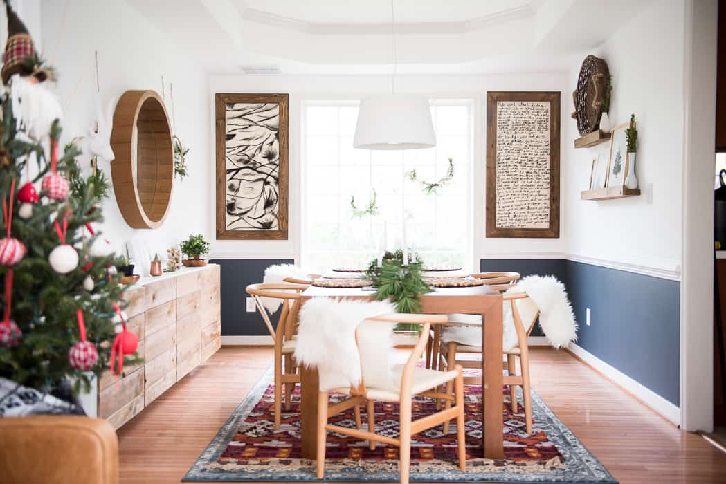 "SIMPLE DINING ROOM CHRISTMAS DECOR - PLACE OF MY TASTE on ""Room Decor""  id=91285"