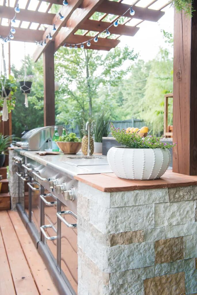 AMAZING OUTDOOR KITCHEN YOU WANT TO SEE on Patio Kitchen Diy  id=49405