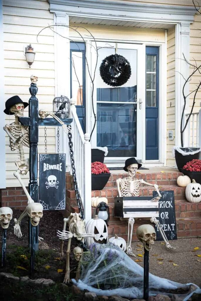 Halloween Front Porch Decorations