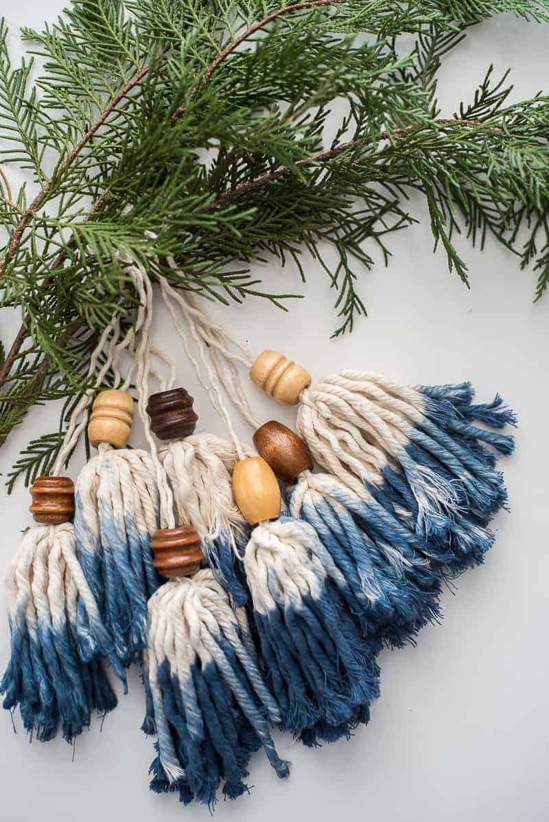 DIY BOHO Tassel ornament