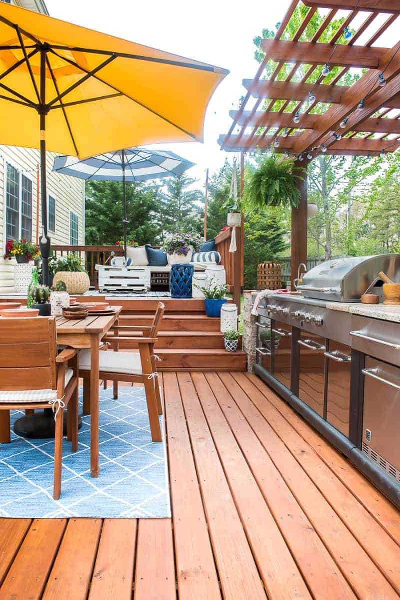 easy outdoor space refresh using