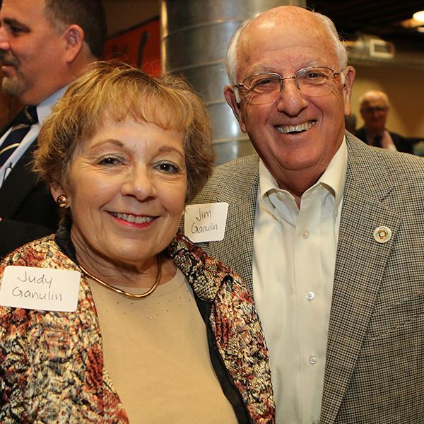 Jim and Judy Ganulin