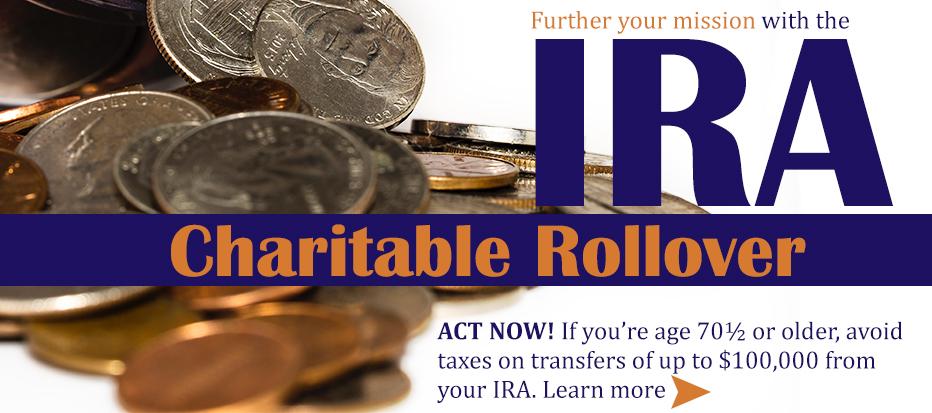 Charitable IRA Rollover