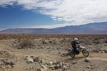 Dual Sport Riding in Panamint Valley, California