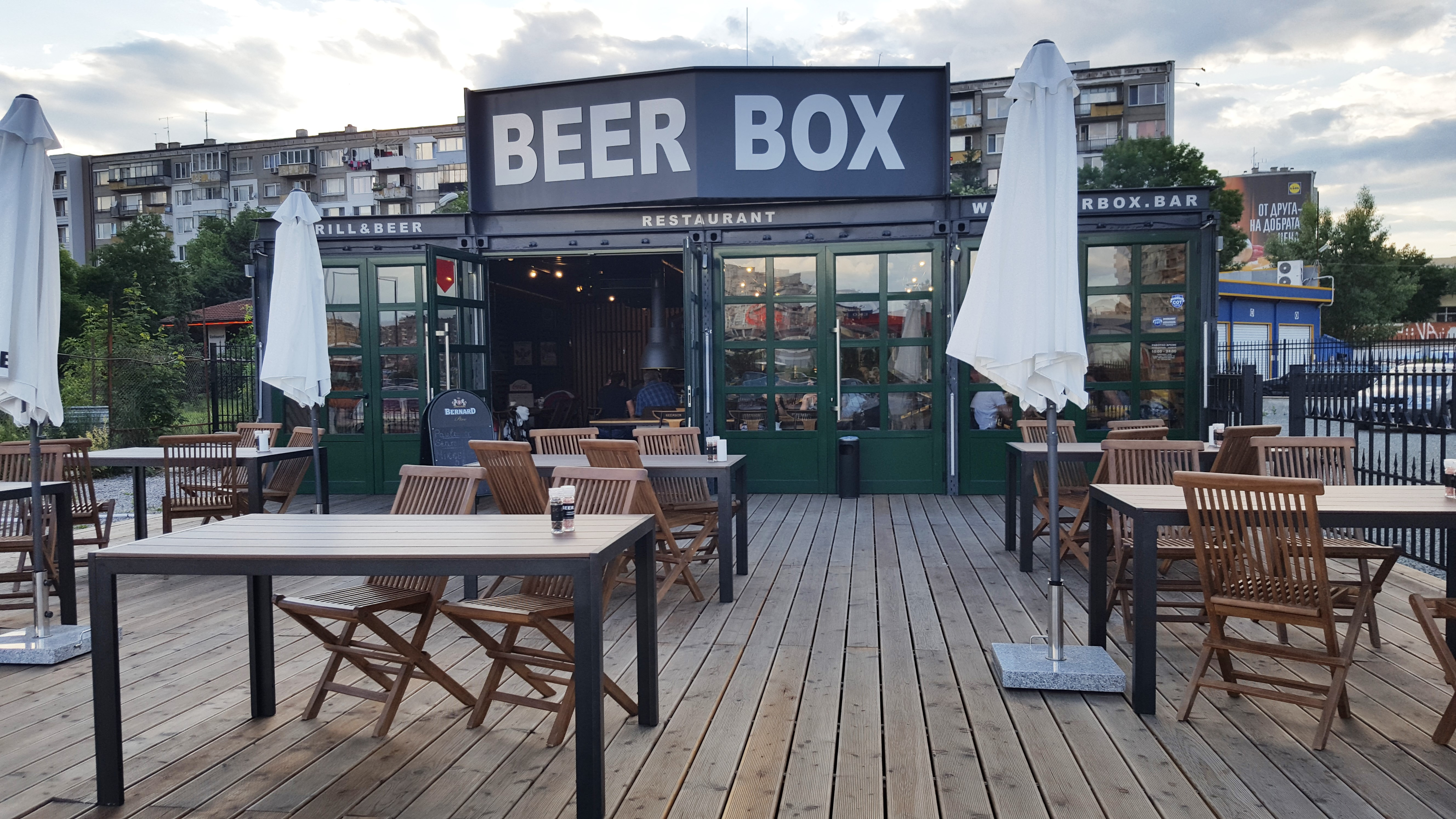 Beer Box Outside, placescases.com