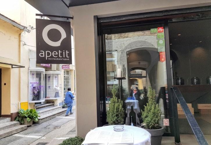 Restaurant Apetit, Zagreb, placescases.com