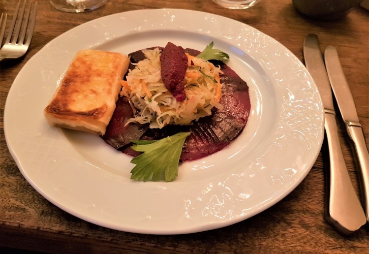 Beetroot salad at ANDRe, placescases.com