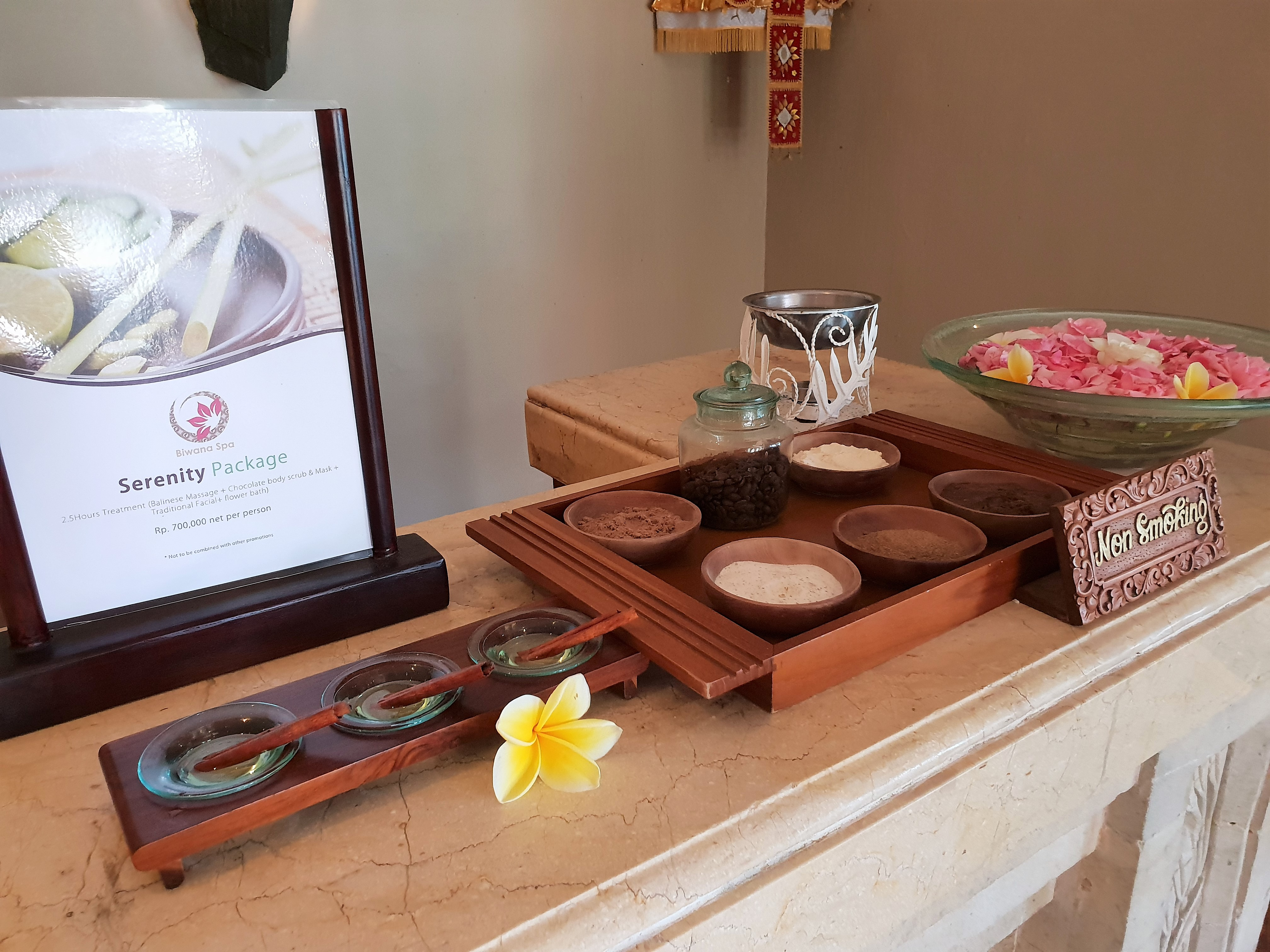 Is the Balinese massage a ritual or therapy?