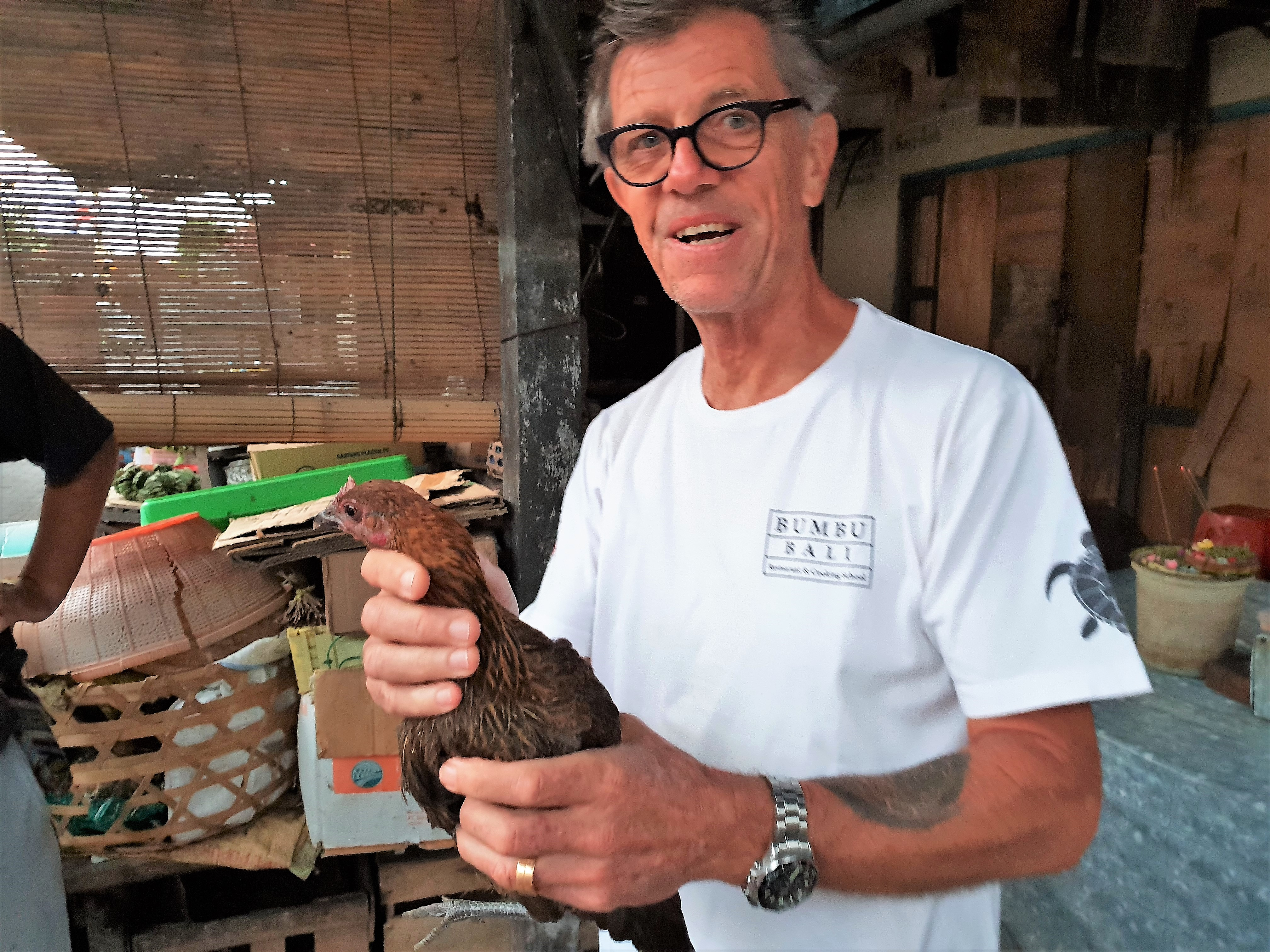 Chef Heinz von Holzen, owner of Bumbu Bali restaurants and Rumah Bali Villas, on Bali island, placescases.com