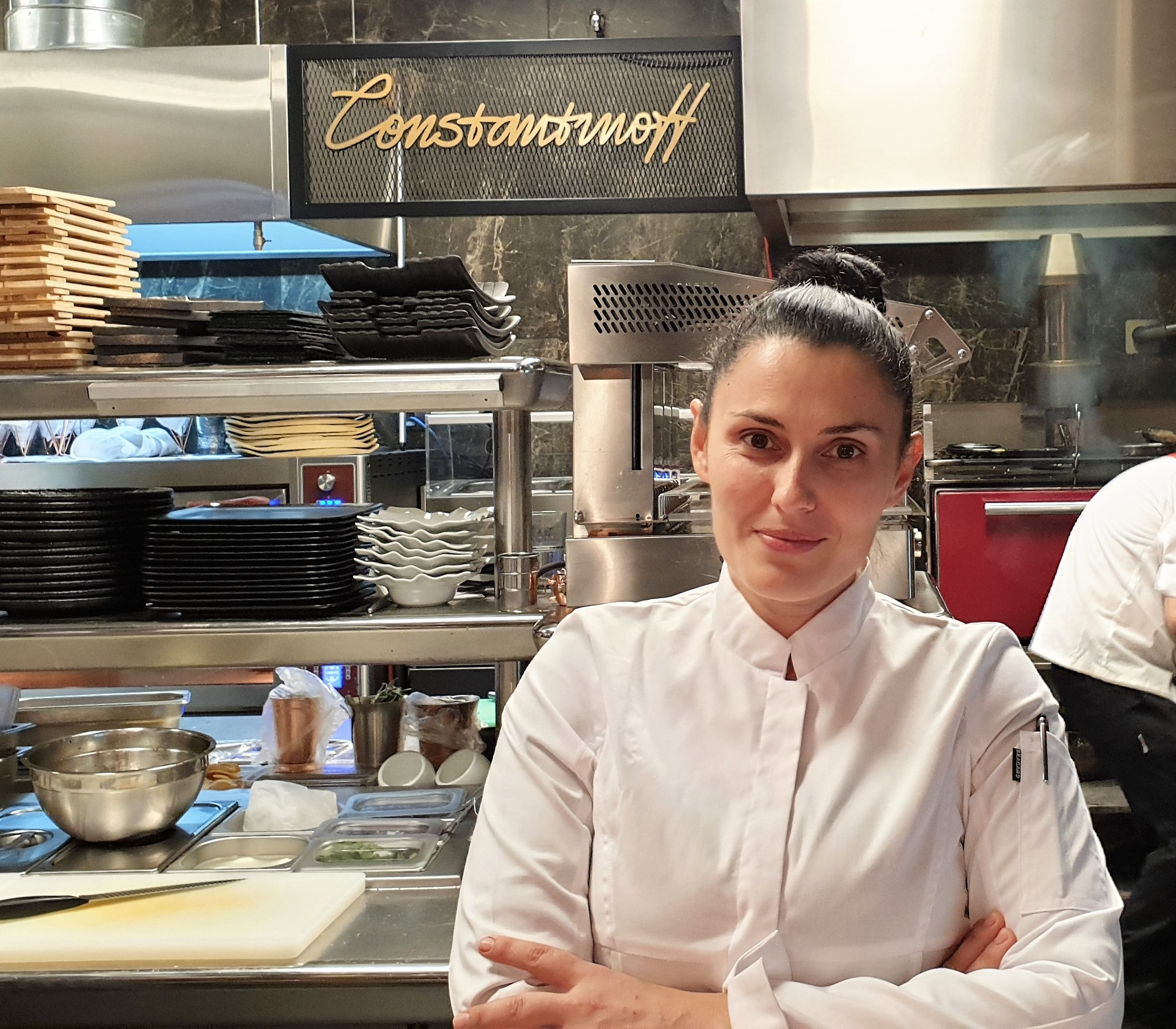 Chef Sidonia Radeva from Constantinoff RestoBar, the first face in Faces Cases rubric– Part 1