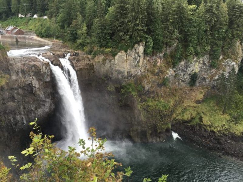 Snoqualmie Falls from the upper overlook.