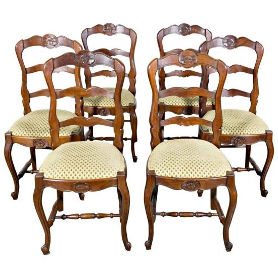 country-french-dining-chairs