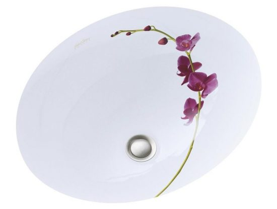 orchid-sink