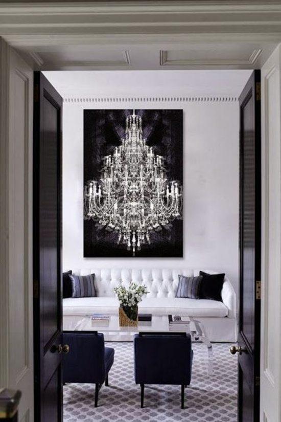 black-white-living-room
