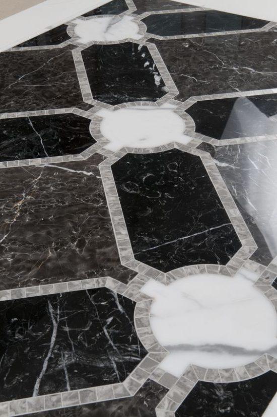 black-white-marble-floor