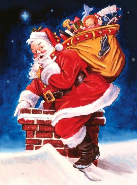 santa-delivering-gifts