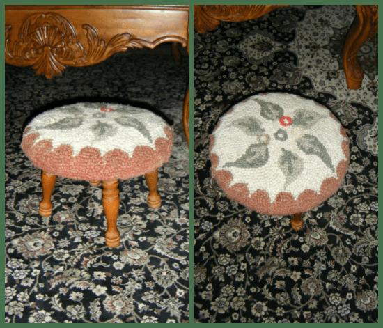decorative footstool