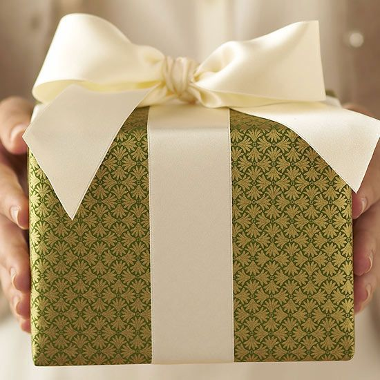 green-wrapped-gift