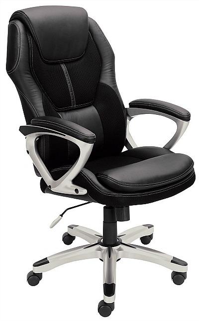 Serta-black-office-chair