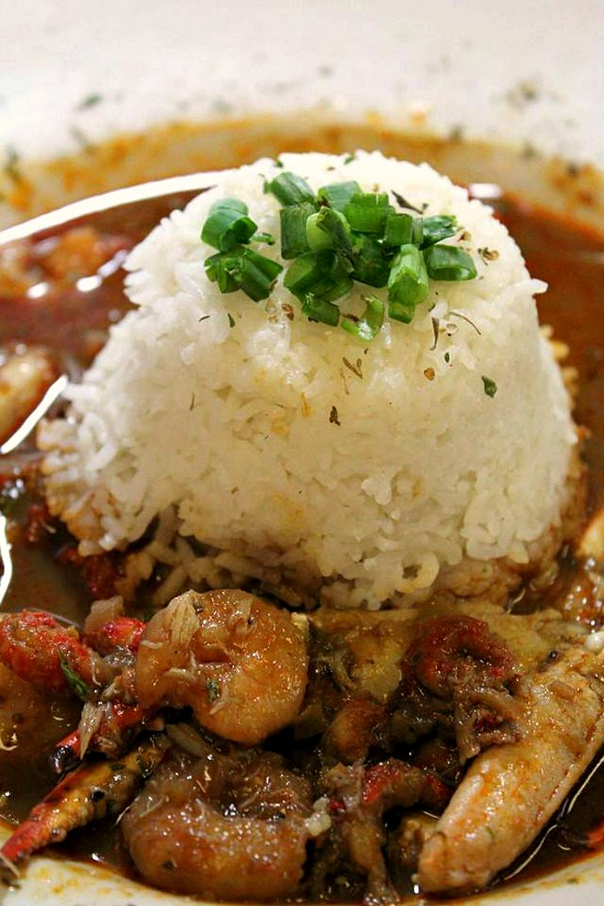 Prejeans seafood gumbo