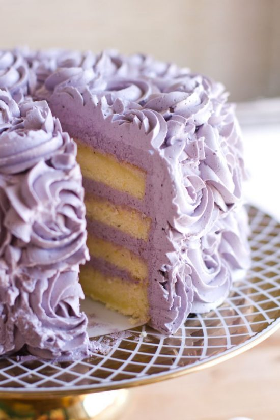 lemon-layer-cake-blueberry-lavender-buttercream
