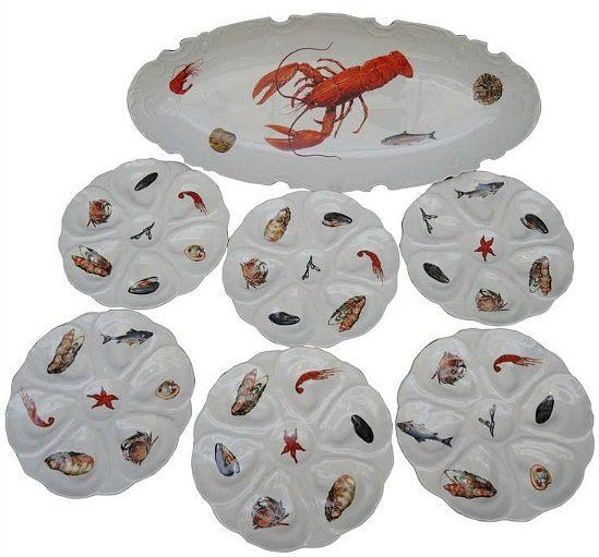 fish-set-lobster-plates