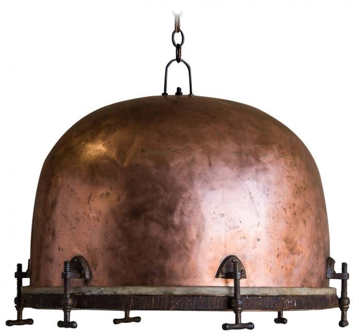 copper-chandelier