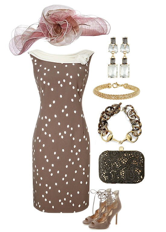 brown-white-derby-dress