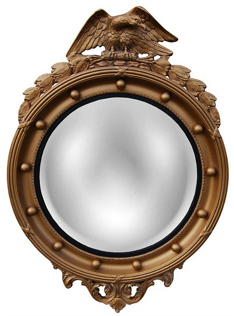 Regency-eagle-convex-mirror