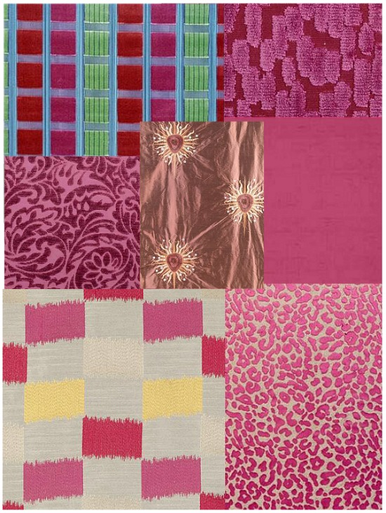 deep-pink-fabrics
