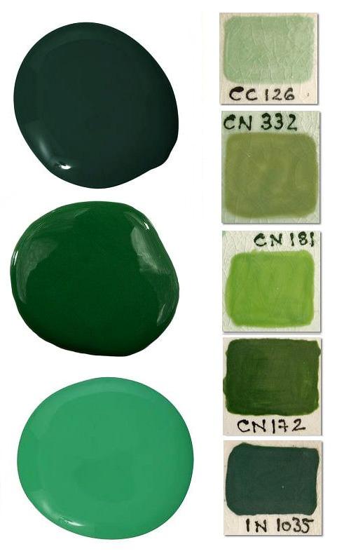 green paint colors