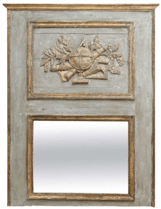French-trumeau-mirror
