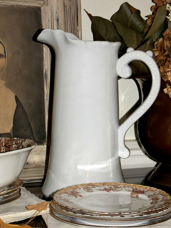 ironstone-pitcher