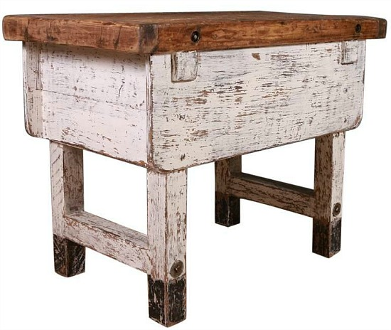 farmhouse style centre table'