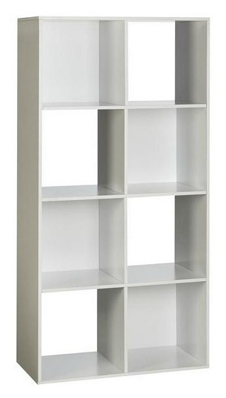 White 8-Cube Organizer