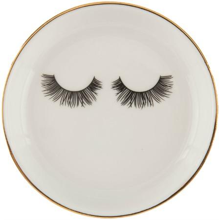 Eyelashes Jewelry Dish