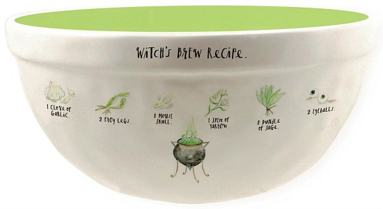 rae-dunn-witchs-brew-recipe-candy-bowl-10-in-white-lime