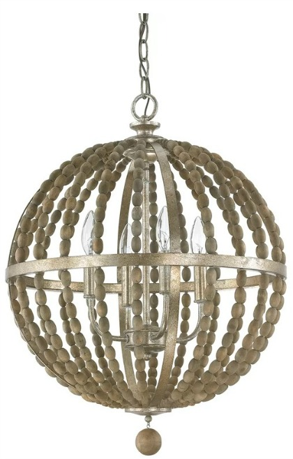 Badgett 4-Light Globe Chandelier